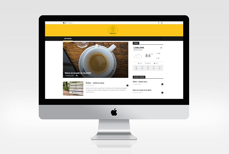 Spletni portal ŠIŠKAR.SI